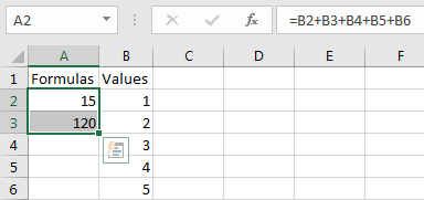 Excel formula protection.Cells containing formulas highlighted.